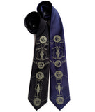 Solar and Lunar Eclipse Neckties