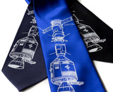 Blue Apollo Soyuz astronaut neckties.