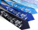 Apollo Soyuz astronaut neckties by Cyberoptix