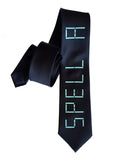 Speak and Spell inspired necktie, by Cyberoptix
