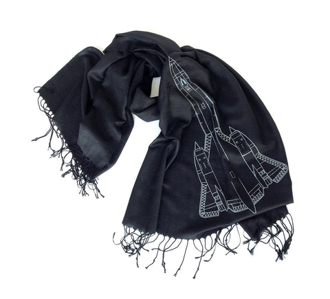 SR-71 Blackbird Light Pashmina