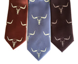 Longhorn neckties, by Cyberoptix