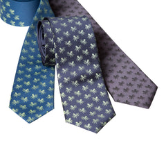 Tiny Octopus Print Necktie, Octopi Pattern Tie