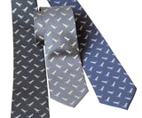 Tiny T-Rex Print Necktie, Science Teacher Tie, by Cyberoptix
