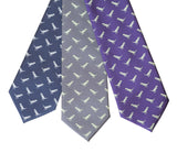 Tiny T-Rex Prehistoric Necktie, Gifts for Dinosaur Lovers, by Cyberoptix