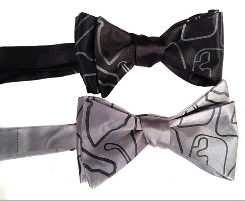 Race Track Maps Bow Tie
