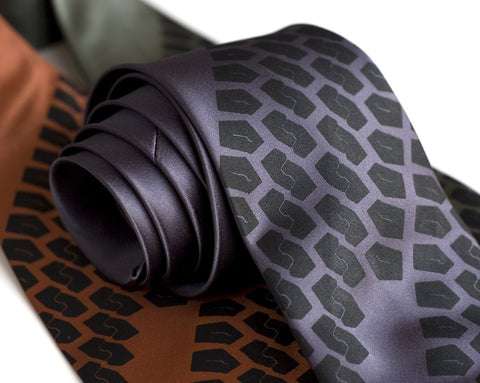 Tire Tread Necktie