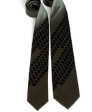 Olive green Tire Tread Neckties
