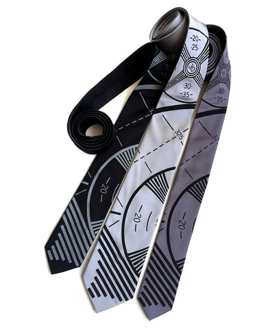 TV Test Pattern Necktie
