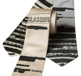 Unclassified NSA Memo Necktie, Alien Tie, by Cyberoptix