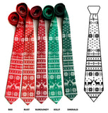 Christmas Sweater Neckties, by Cyberoptix