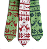 Ugly Christmas Sweater Neckties, by Cyberoptix