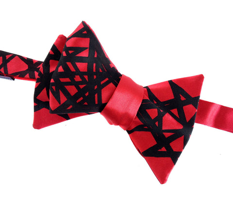 Unicursal Hexagram Bow Tie