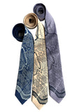 1791 L'Enfant Plan Map Neckties, by Cyberoptix