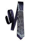 L'Enfant Plan Washington DC Map men's tie, by Cyberoptix