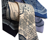 L'Enfant Plan Washington DC Map Neckties, by Cyberoptix