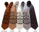 Whiskey Neckties, by Cyberoptix Tie Lab