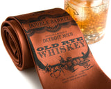 Cinnamon Whiskey Necktie