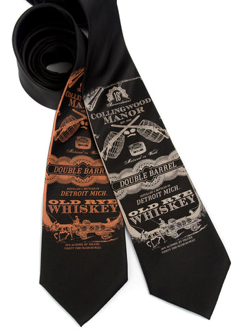 Whiskey Business Silk Necktie
