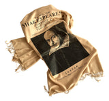 William Shakespeare Print scarf