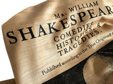 Shakespeare First Folio Print scarf