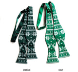 Green Ugly Christmas Sweater bow ties