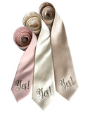 Yes Print necktie, by Cyberoptix