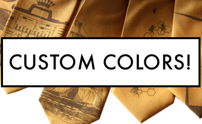 how to order custom ties and scarves, cyberoptix