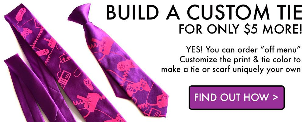 customize your tie