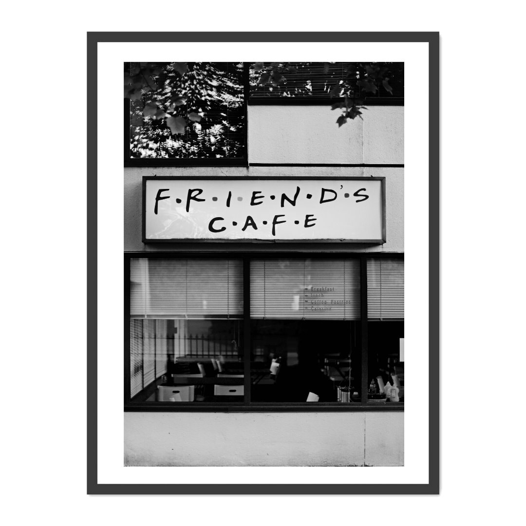 FRIENDS  CAFE - Poster