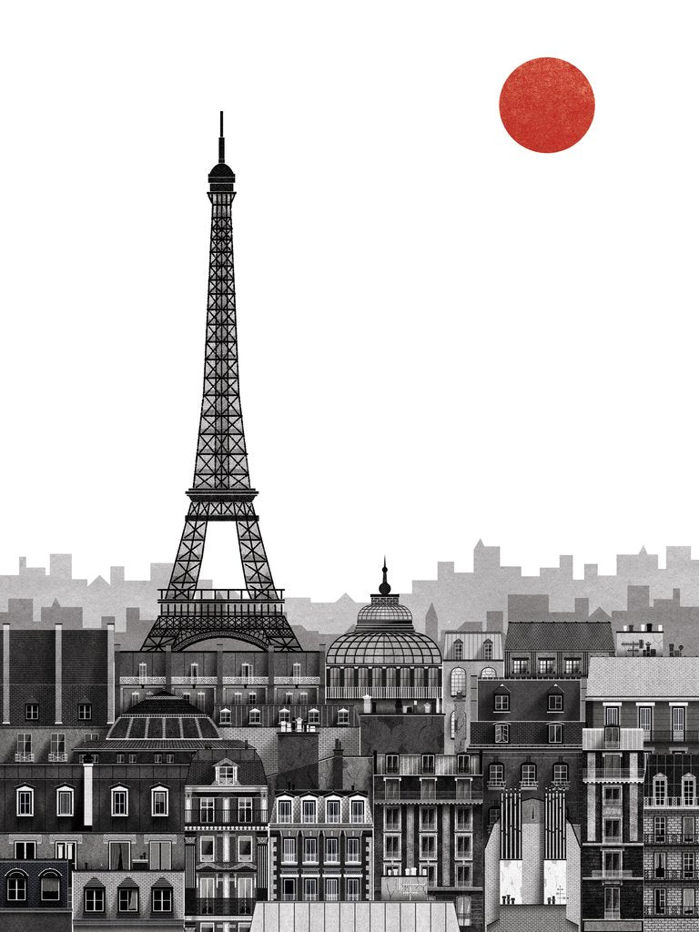 Paris Print - by Francesco Giustozzi