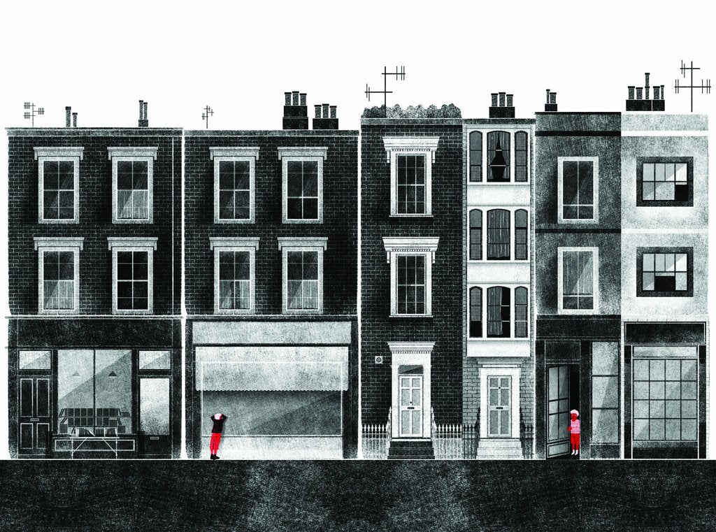 The Streets - London Print By Francesco Giustozzi