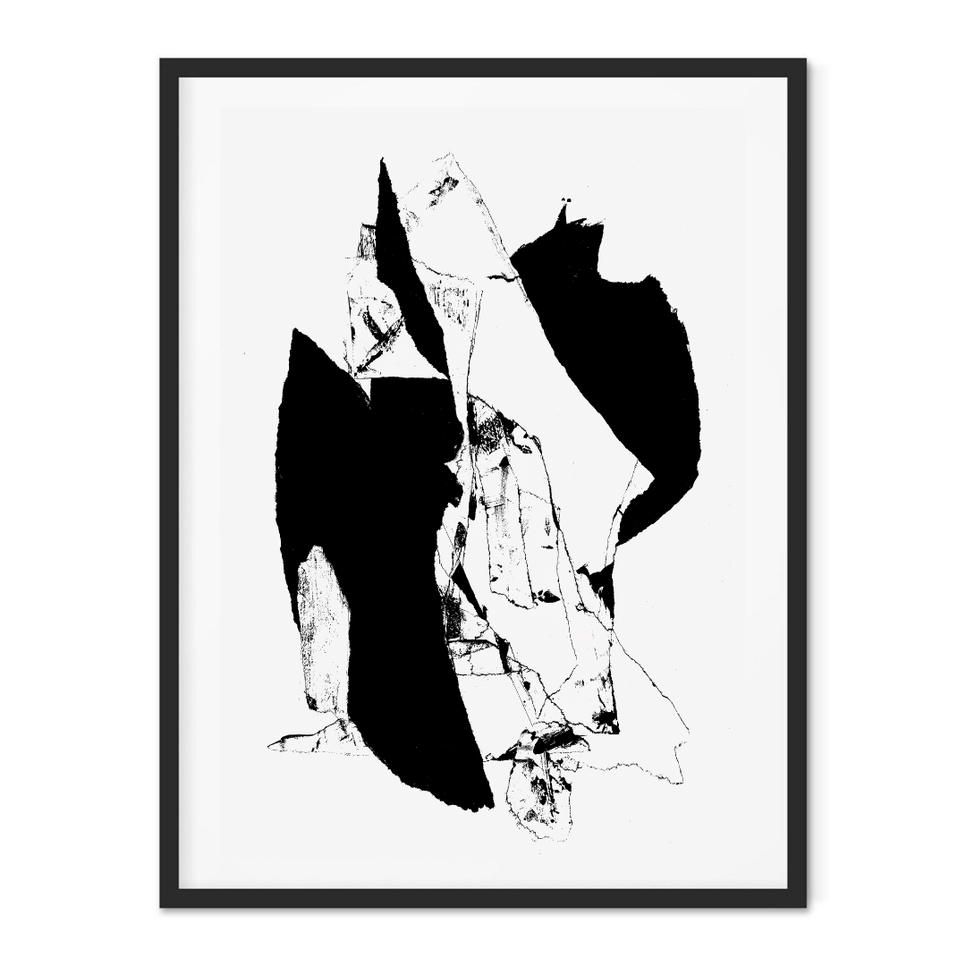 Abstract Borders - Print
