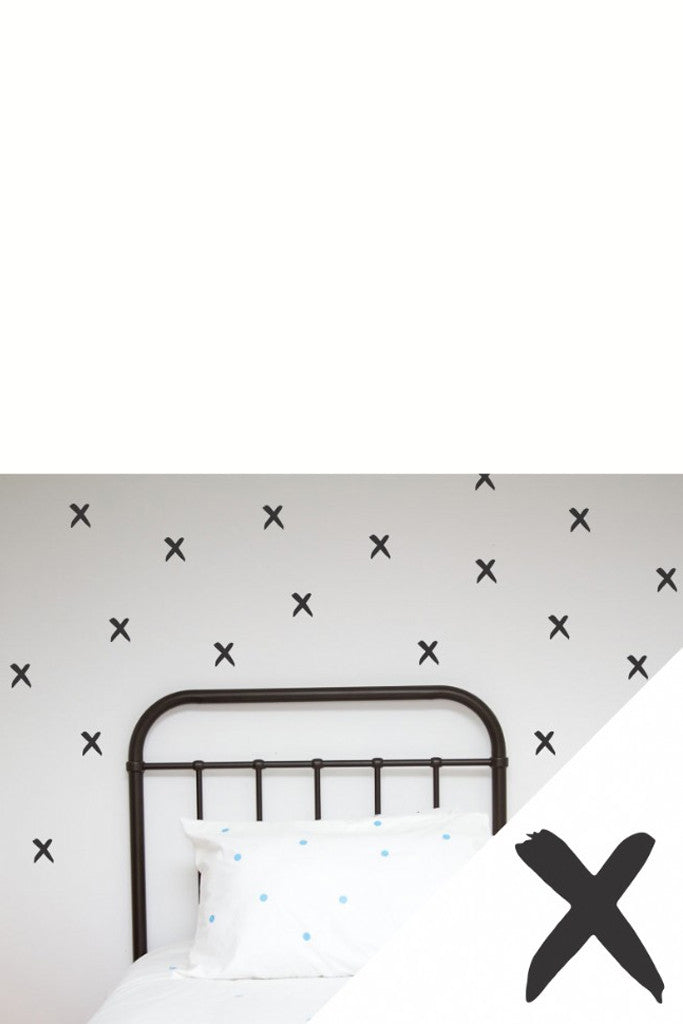 wall stickers black cross – vibe - giftware & decor