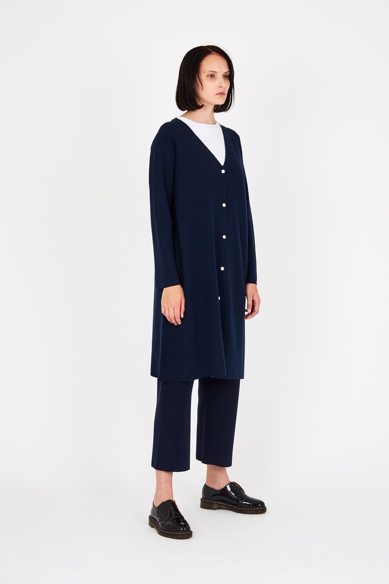 Bev cardigan in dark blue