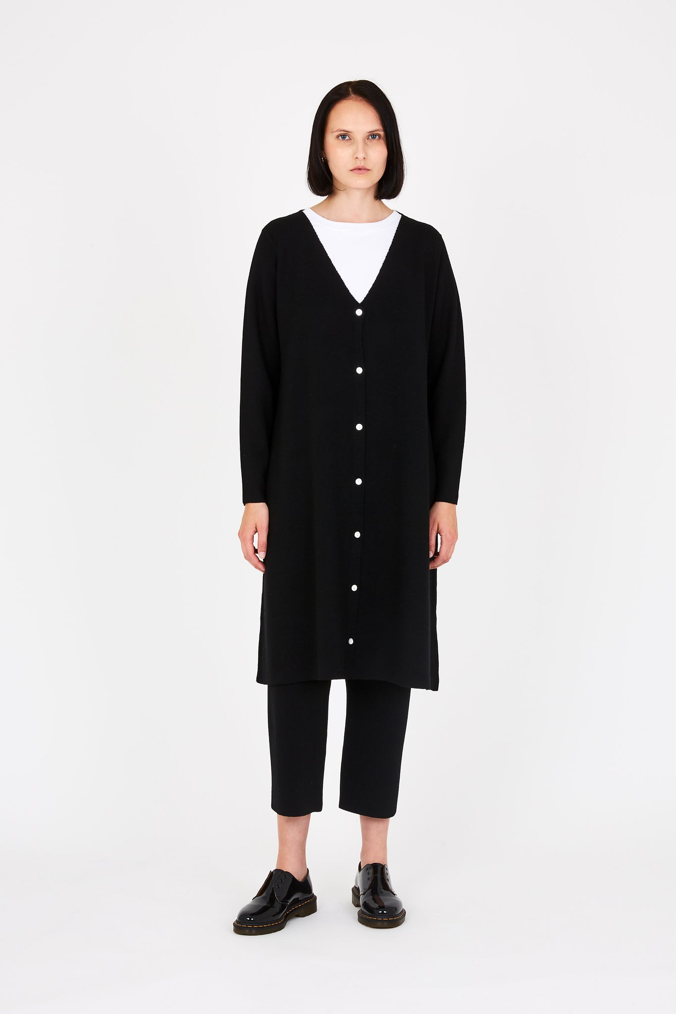Bev cardigan in black