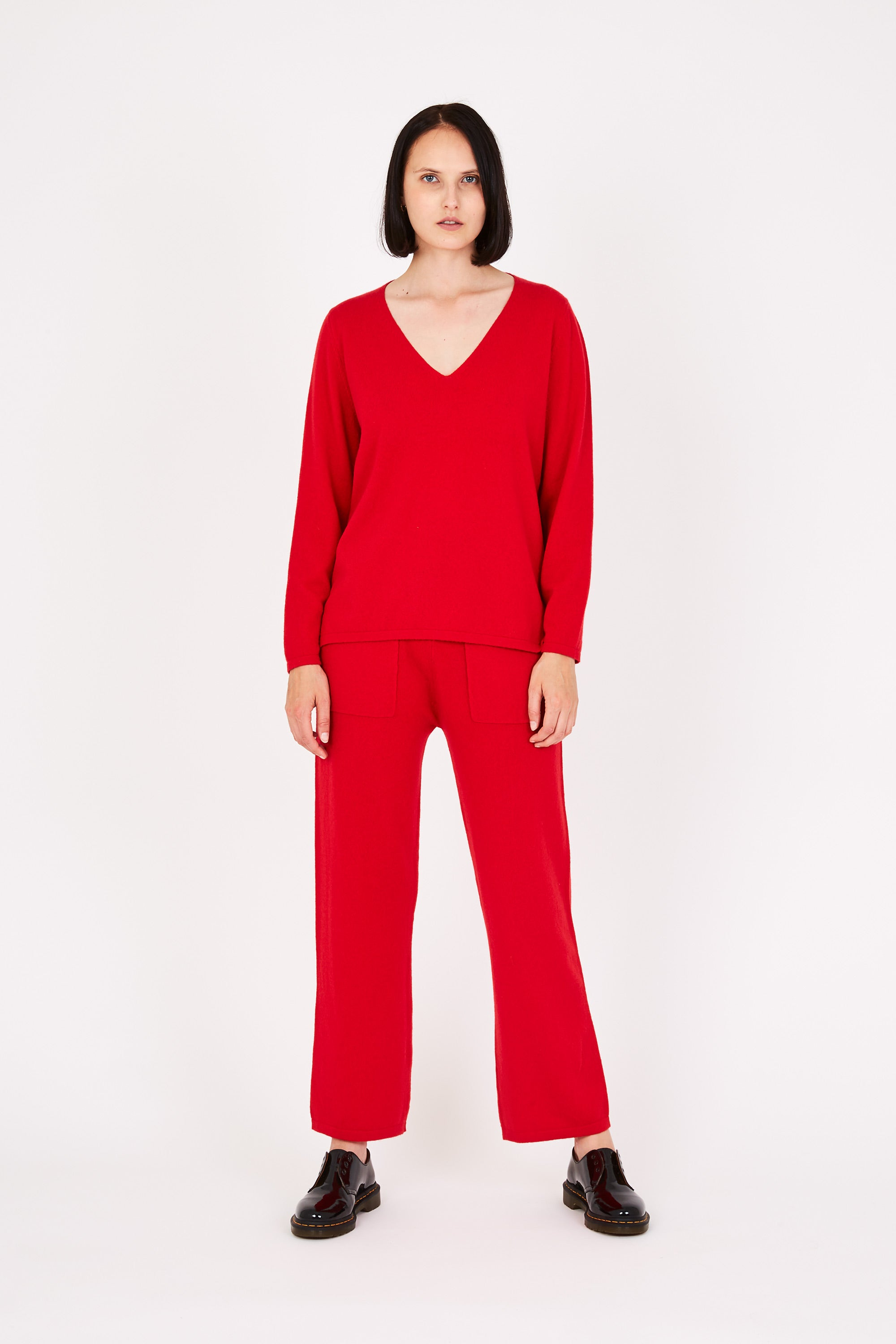 Vija sweater in red