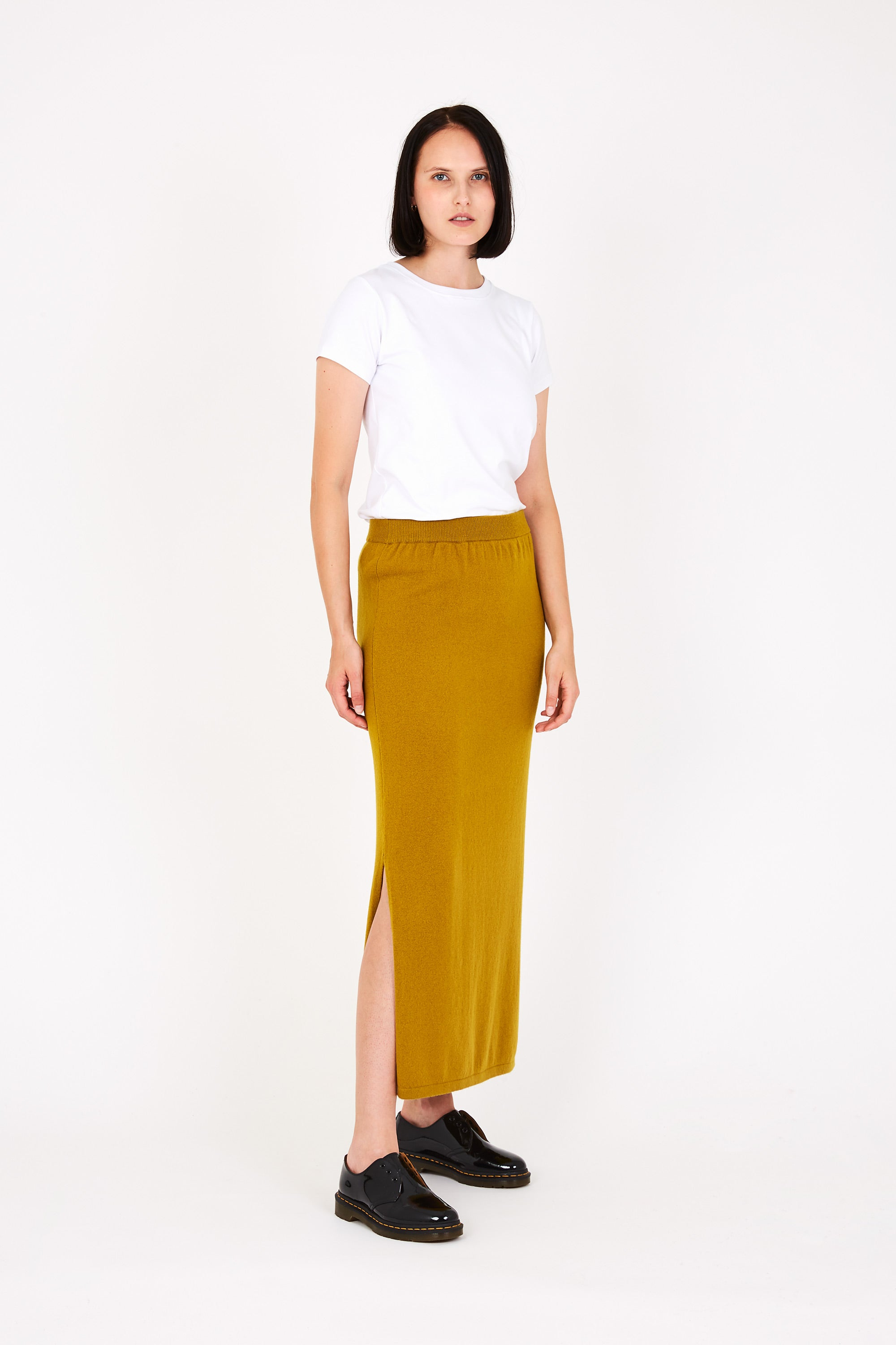 Kelly skirt in yellow