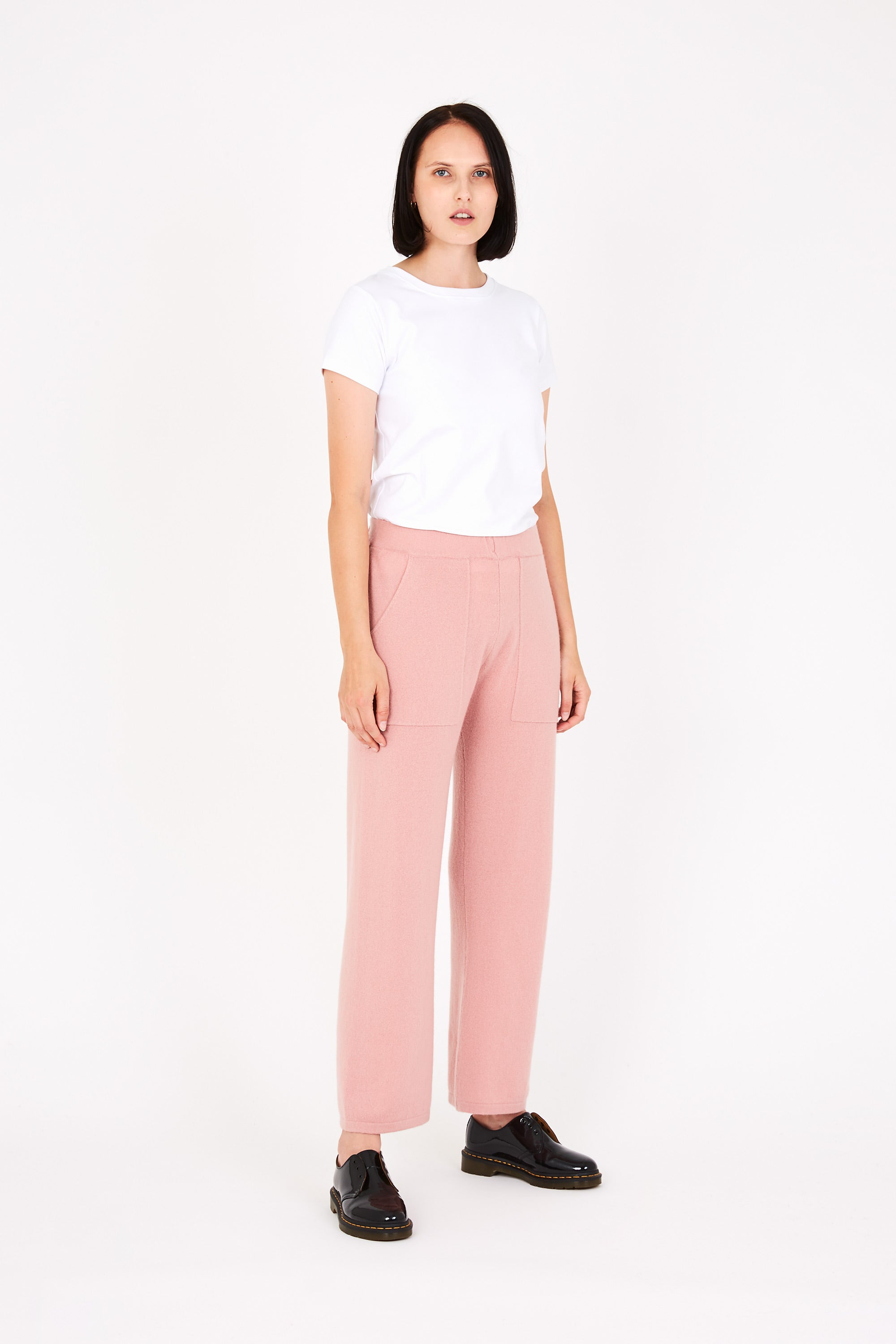 Quinn trousers in rose