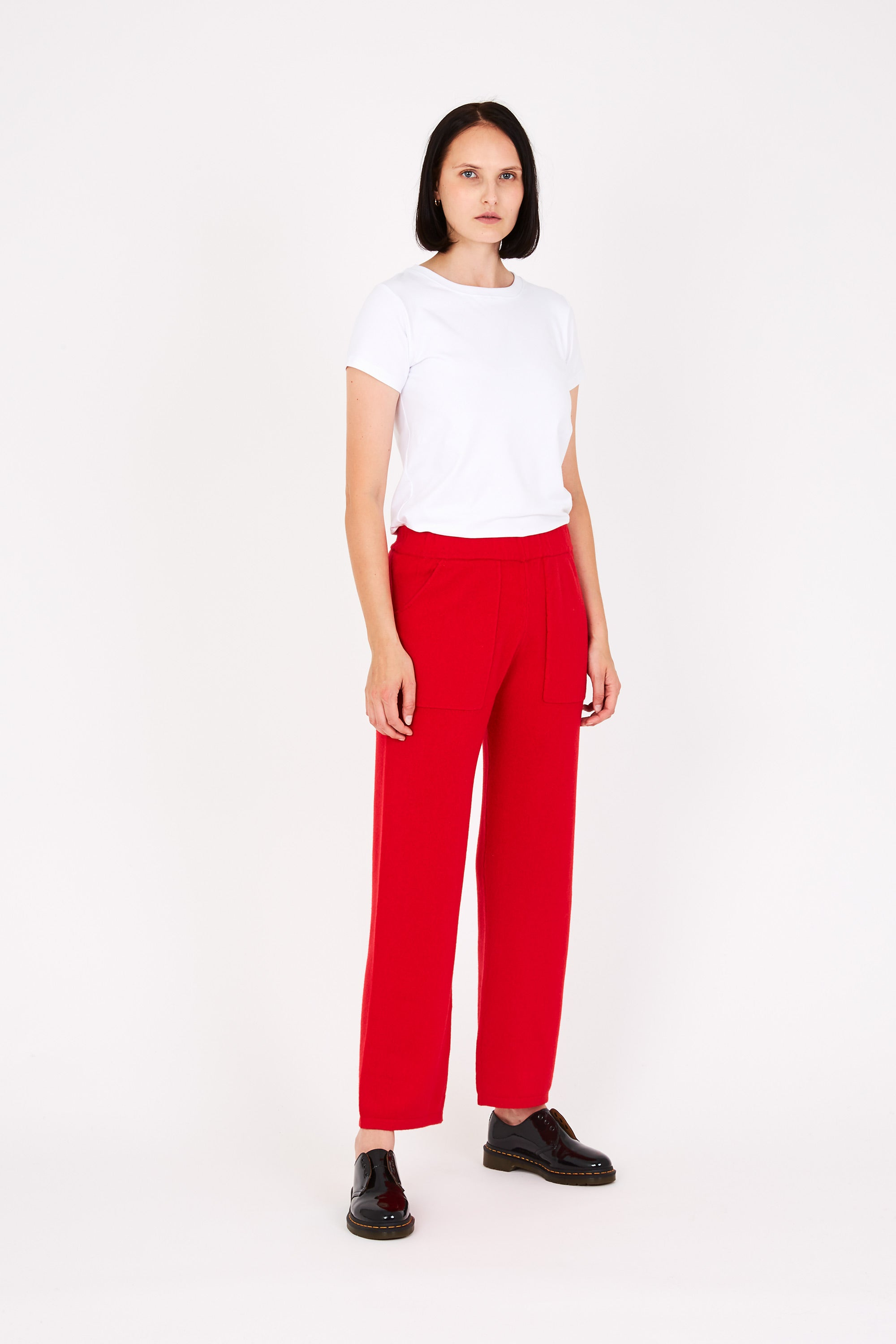 Quinn trousers in red