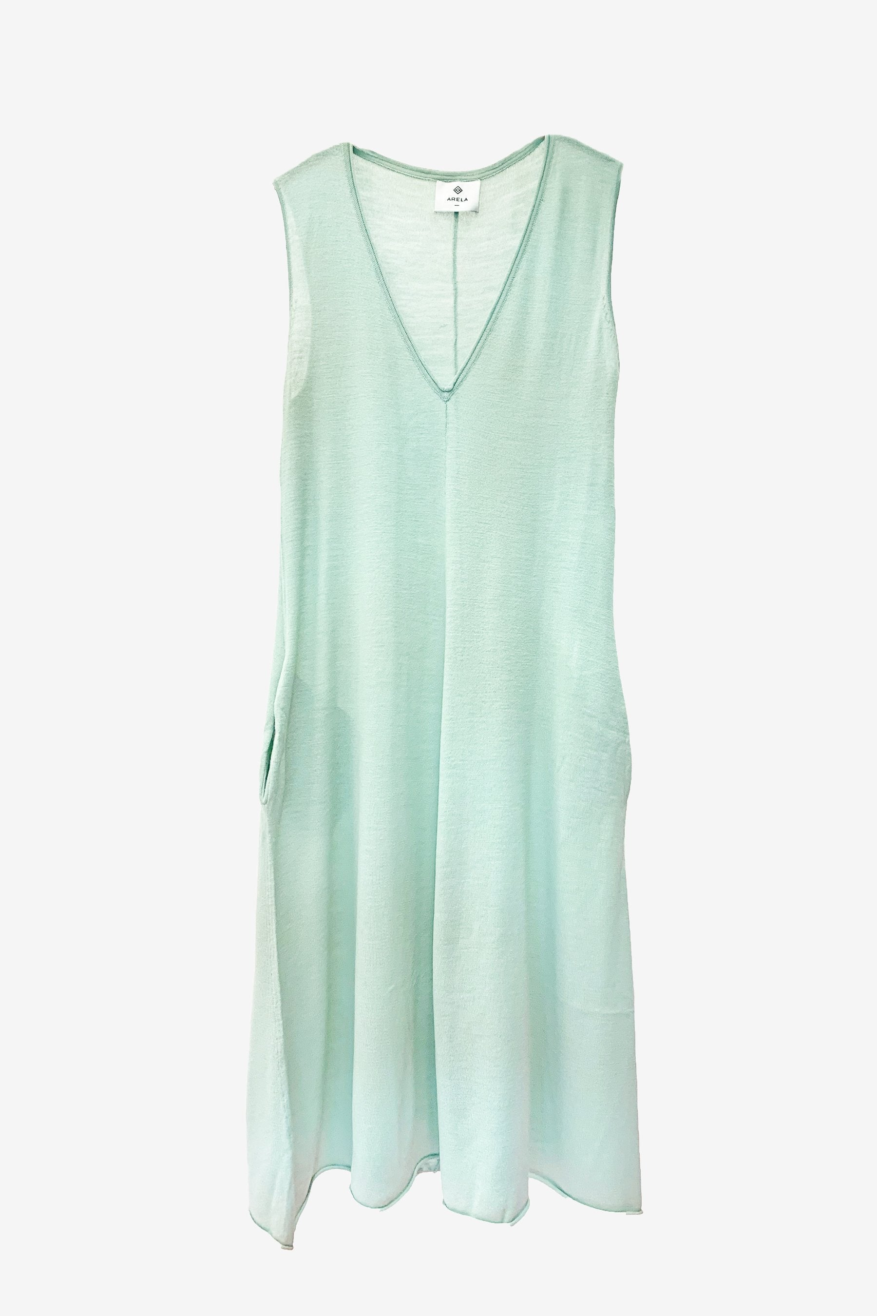 For Good: Mint Green Maxi Dress, size M