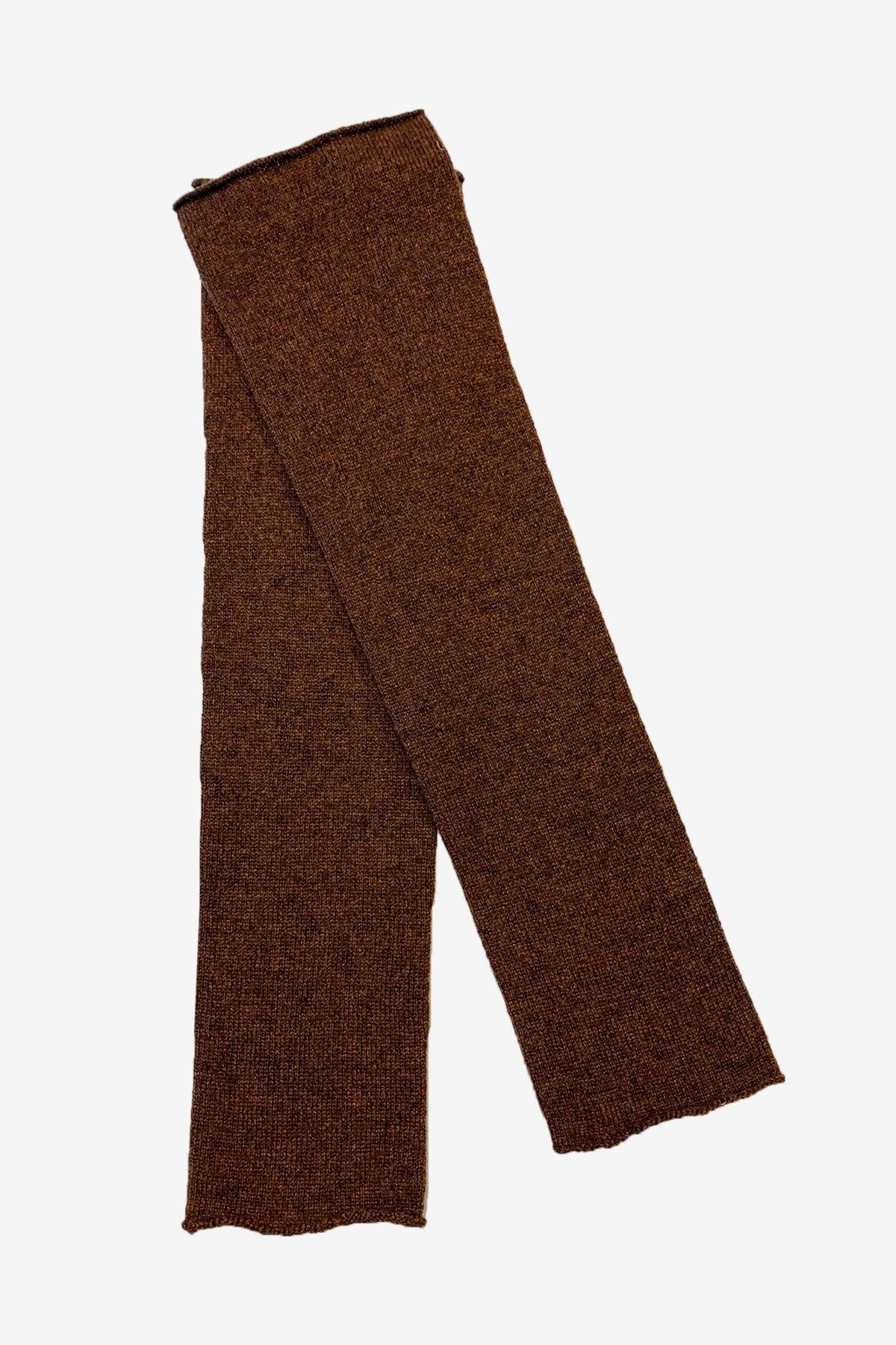 Sara cashmere arm warmers in brown