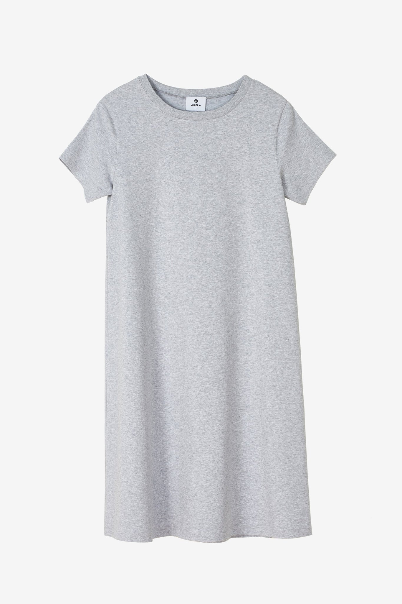 Kimsy t-shirt dress in grey