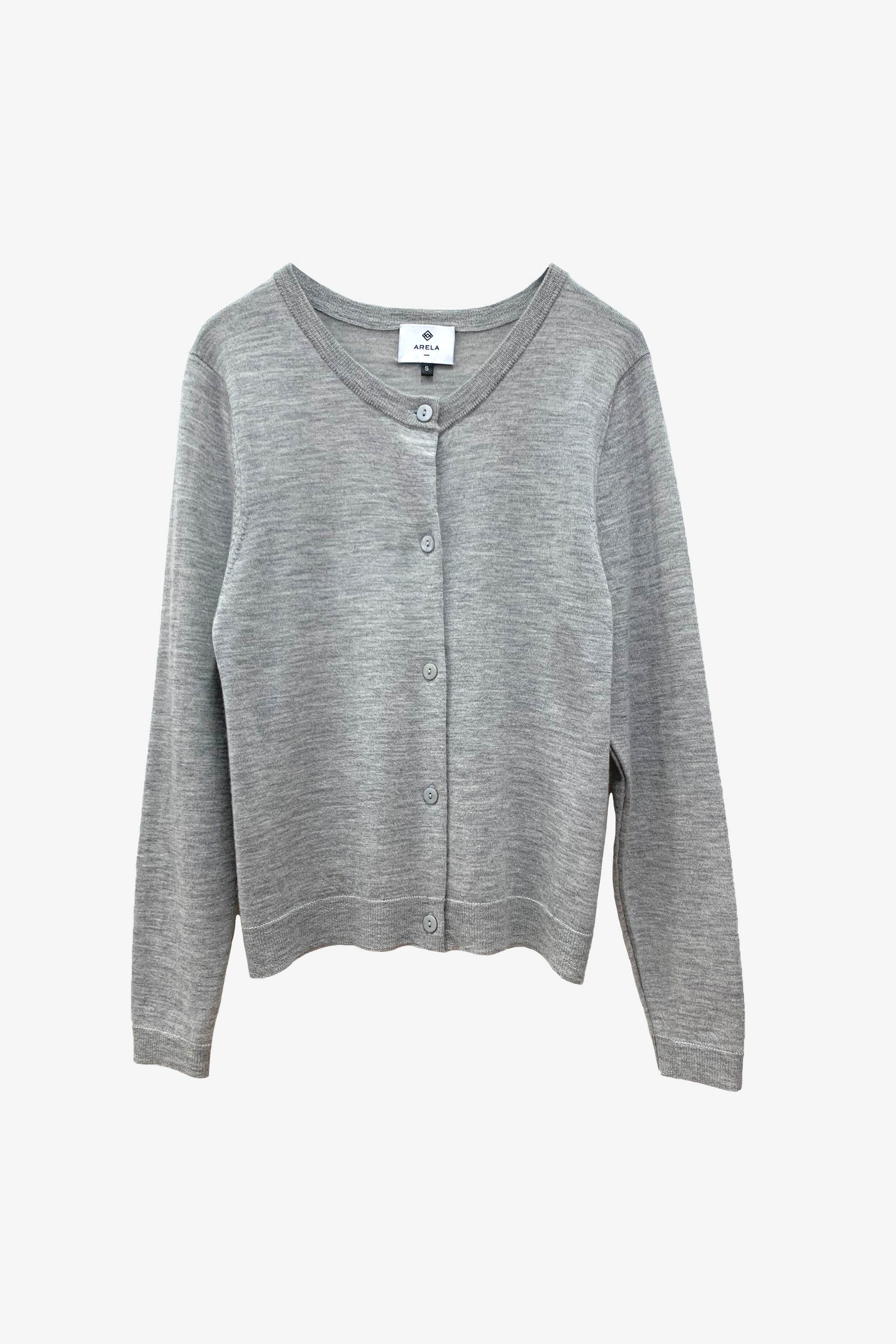 For Good: Light grey Cardigan, size S