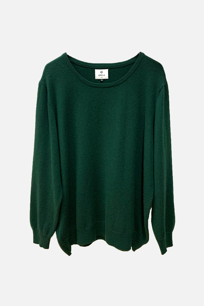 For Good: Green sweater, size XL