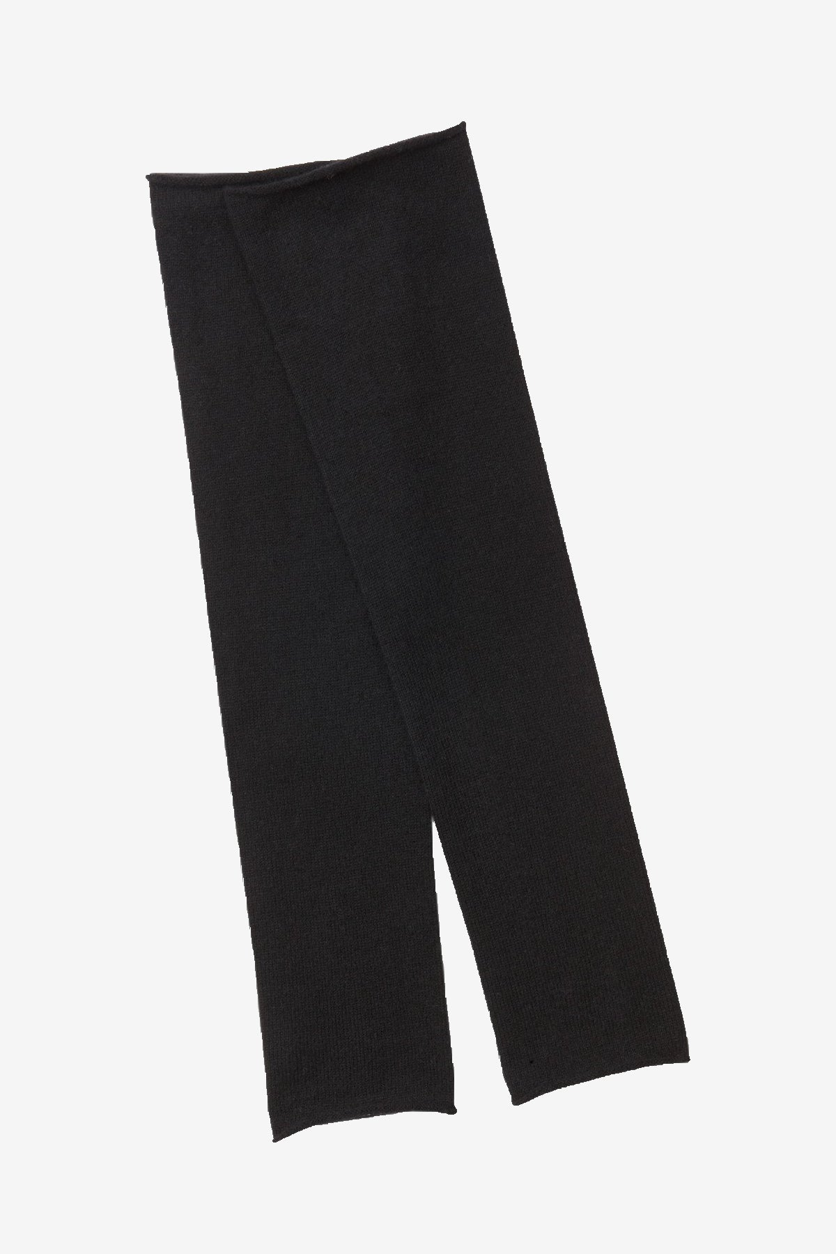 Sara cashmere arm warmers in black