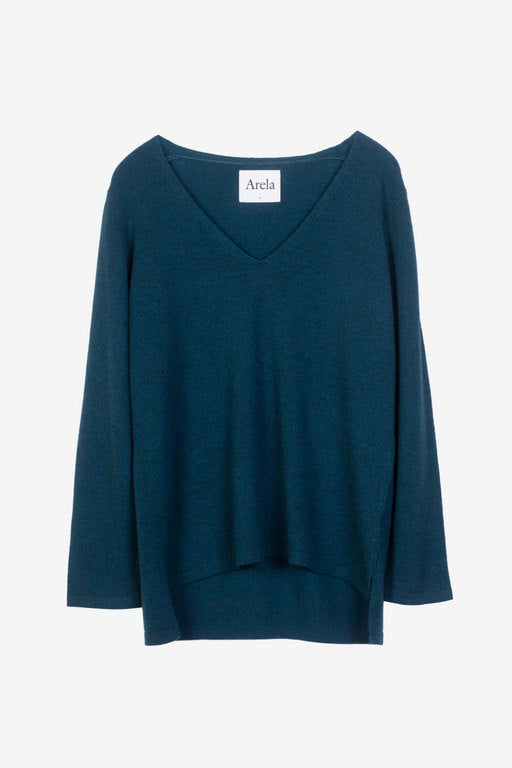 Vija cashmere sweater in blue