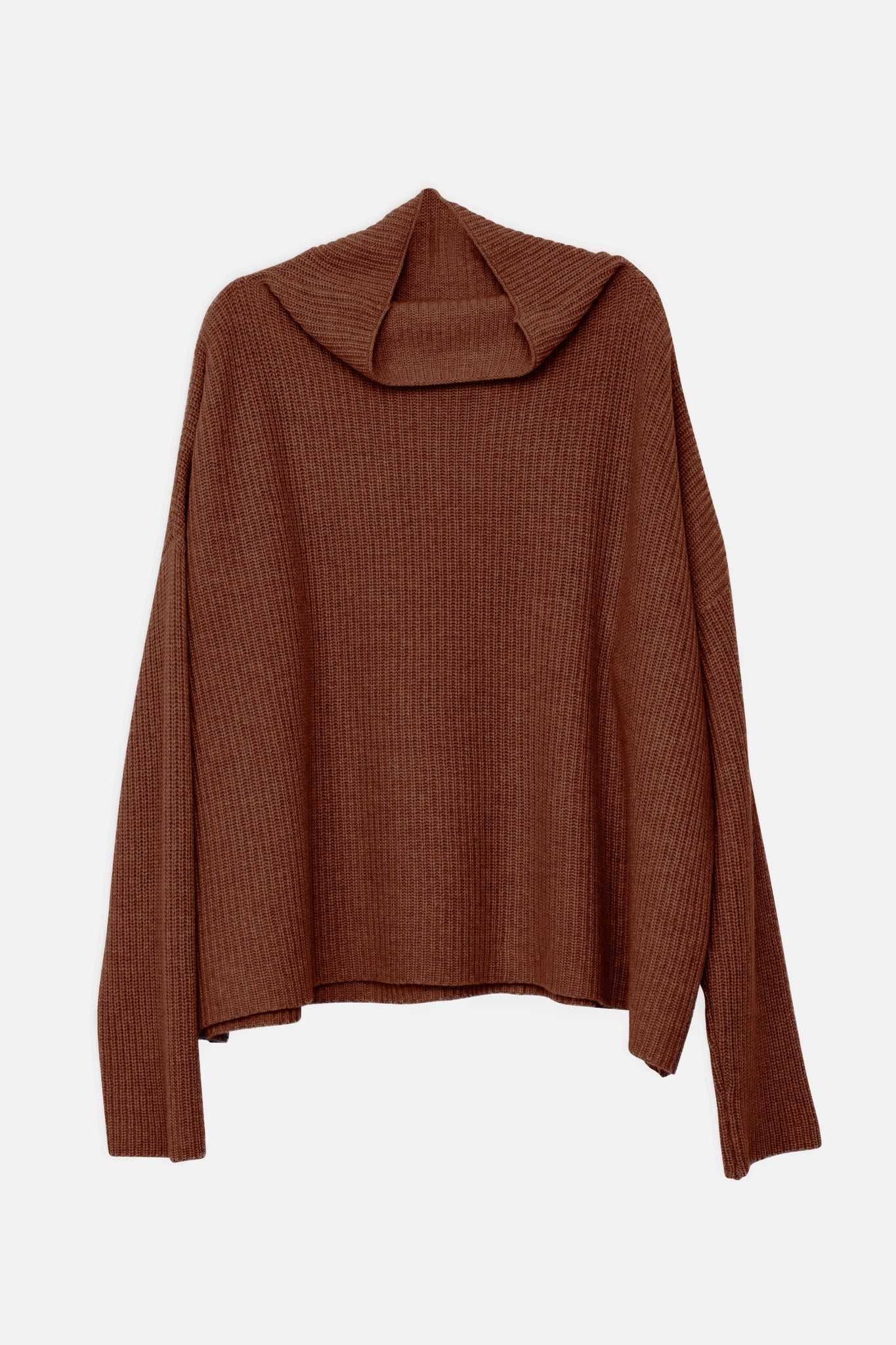 Drew cashmere sweater in brown