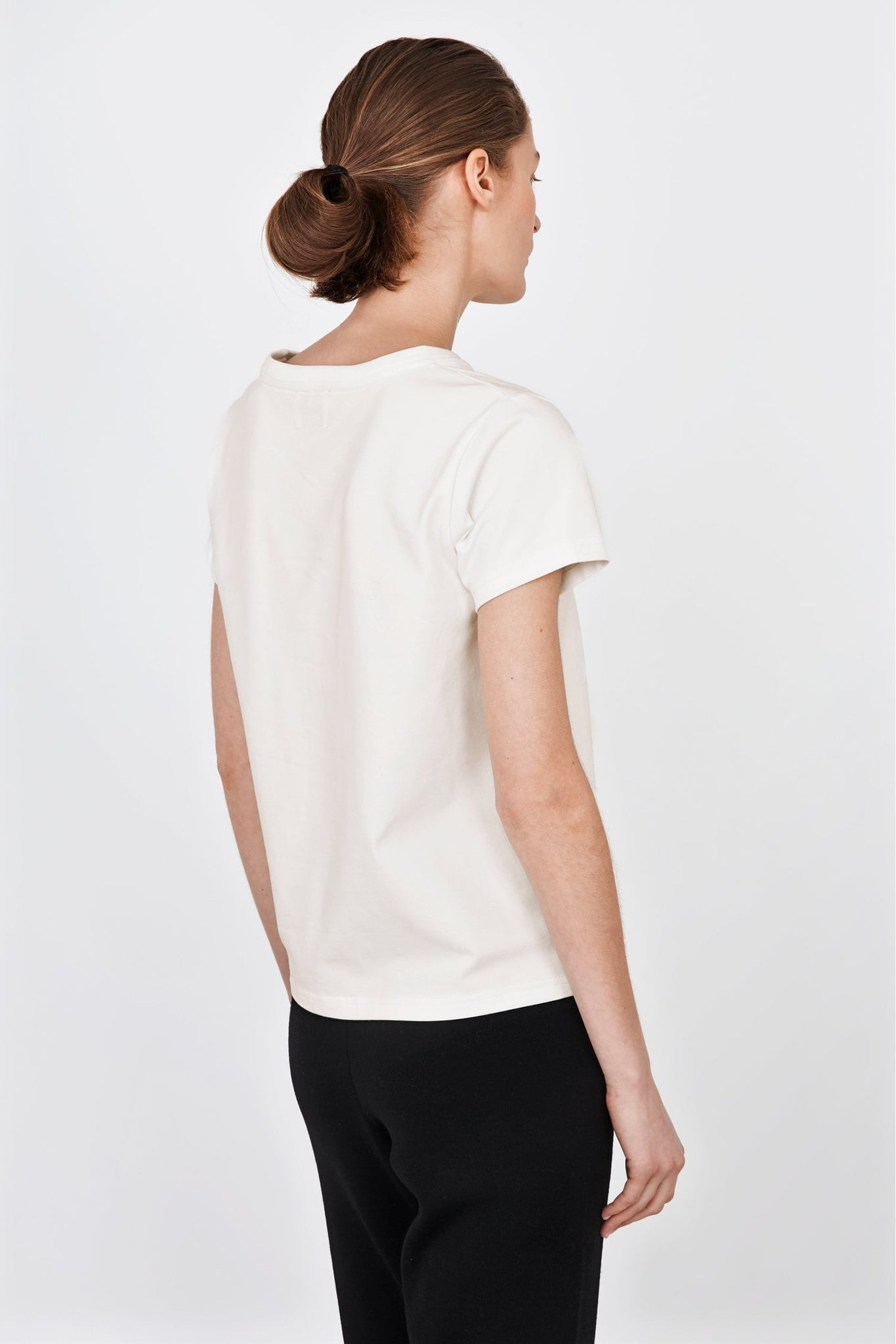 Kim t-shirt in natural white