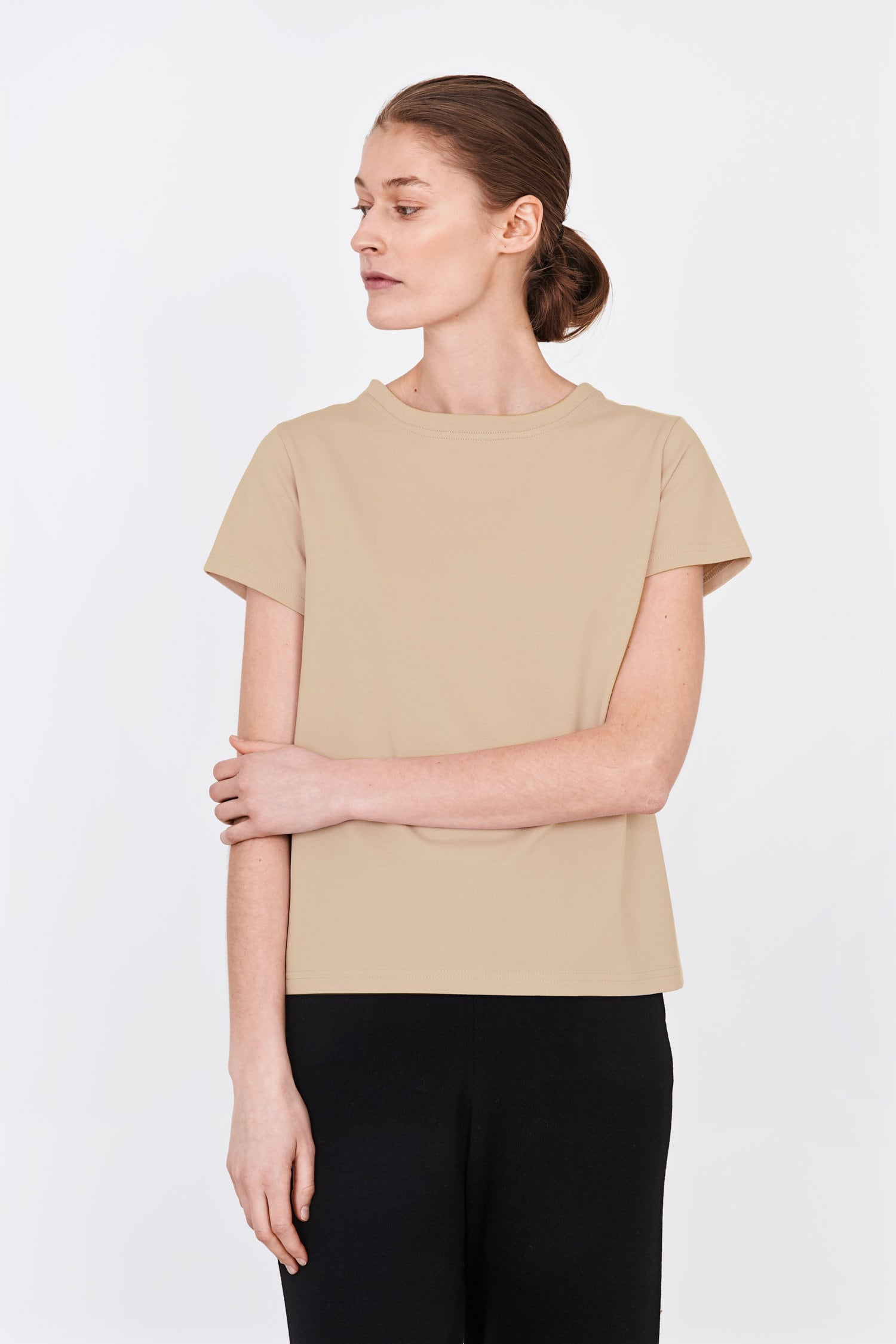 Kim t-shirt in beige